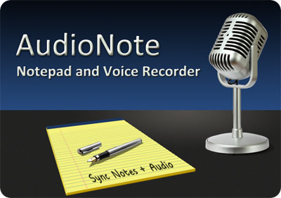 AudioNote note taking software