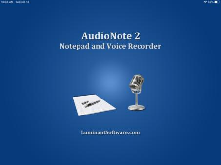 AudioNote | Luminant Software